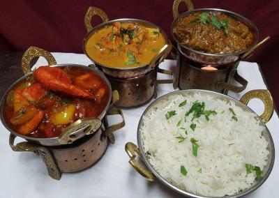 Curryauswahl